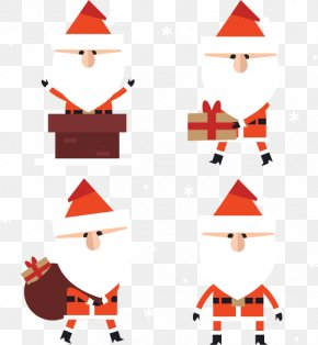 Bearded Grandfather - Santa Claus Beard Christmas Tree Euclidean Vector PNG