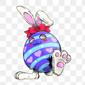 Easter Egg Easter Bunny - Easter Egg Cartoon PNG