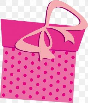 Cartoon Pink Gift Box - Gift Pink Computer File PNG