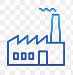 Electric Blue Logo - Industrial Icon Factory Icon Branch Icon PNG