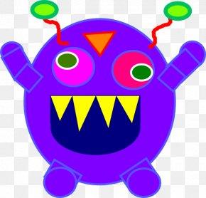 Mean Monster Cliparts - Monster Blog Clip Art PNG