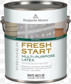 Paint - Benjamin Moore & Co. Paint Sheen Primer Volatile Organic Compound PNG