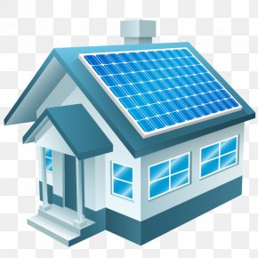 Green Energy Solar House - Solar Power Solar Panel Solar Energy Renewable Energy Solar Cell PNG