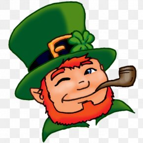 Saint Patrick's Day - Leprechaun Shamrock Saint Patrick's Day The Real St. Patrick Clip Art PNG