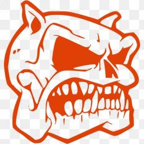 Skull - Bulldog Drawing Skull Calavera Clip Art PNG