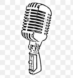 Mic - Microphone Drawing PNG