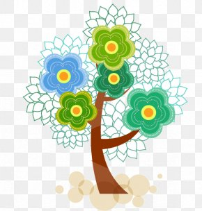 Colorful Tree Vector - Abstract Syntax Tree PNG