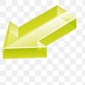 Green Arrow Perspective - Green Arrow Euclidean Vector PNG