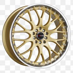 Wheel Rim - Alloy Wheel Car Rim Spoke PNG