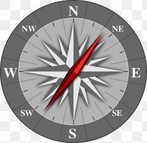 Compass - Compass Rose North Map Clip Art PNG