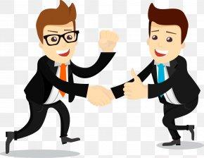 Business Salesman Cartoon - Human Resources Human Resource Management Strategic Human Resource Planning PNG