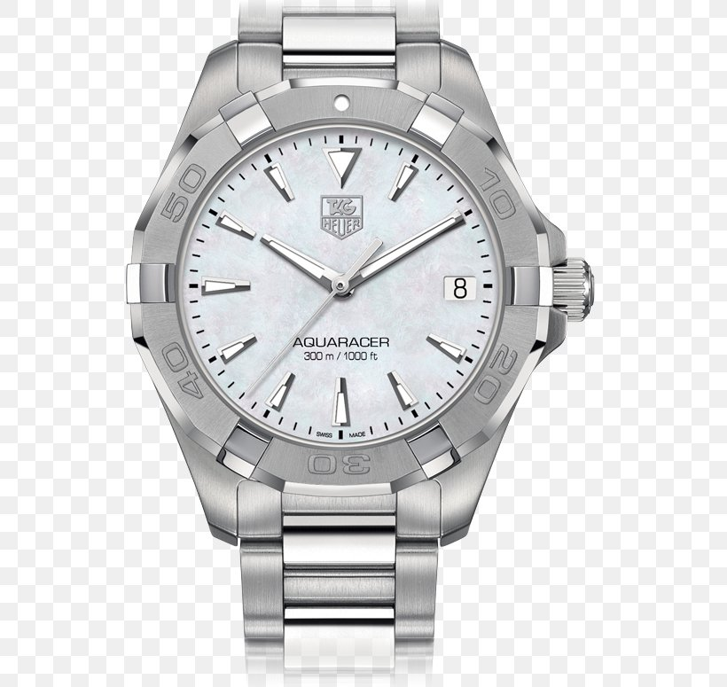 TAG Heuer Aquaracer Watch Rolex Nacre, PNG, 775x775px, Tag Heuer Aquaracer, Bracelet, Brand, Jewellery, Metal Download Free