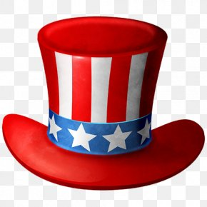 United States - Uncle Sam United States Independence Day Hat Clip Art PNG