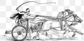 Horse - Chariot There Are No Problem Horses--only Problem Riders Ancient Rome Roman Empire PNG