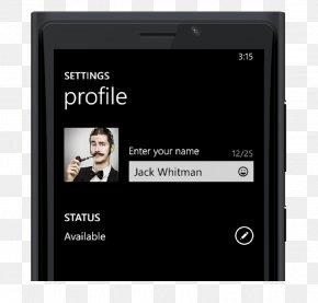 Smartphone - Smartphone Feature Phone WhatsApp Microsoft Lumia Windows Phone PNG