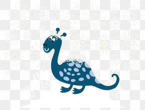 Vector Snow Peacock - Tyrannosaurus Dinosaur Snow Euclidean Vector PNG