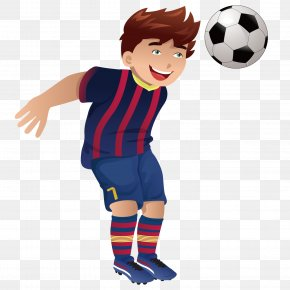 The Boy With The First Ball - Football Player Stock Photography Clip Art PNG