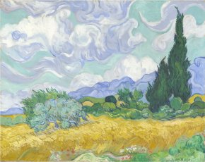 Wheatfield Cliparts - Metropolitan Museum Of Art National Gallery Van Gogh Museum Arles The Wheat Field PNG