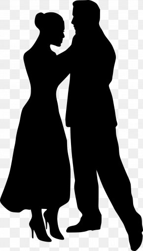 Couples People - Silhouette Dance Clip Art PNG