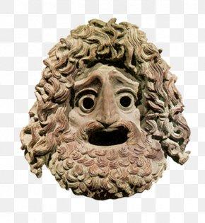 Mask - Mask Theatre Of Ancient Greece Greek Mythology PNG