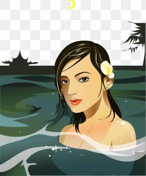 Vector Beauty Spa Bath - Spa Bathing Sauna PNG