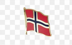 National Day Big Hui Hui - Flag Of Norway Lapel Pin Fahne PNG