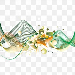Curve And Wave Pattern - Euclidean Vector Download Vexel PNG