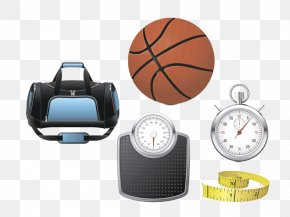Diet Fitness Icon Image - Sports Equipment Ball Game Basketball PNG