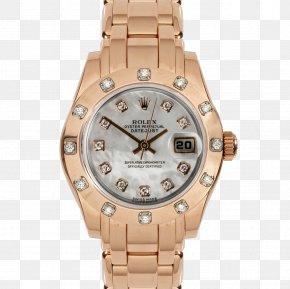 Rose Gold Rolex - Watch Rolex Datejust Rolex Daytona Rolex Submariner Rolex Sea Dweller PNG
