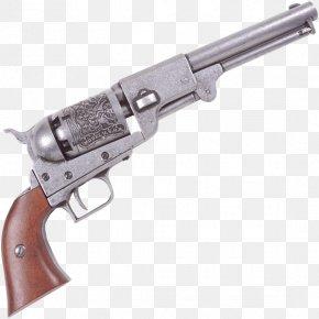 Handgun - Trigger Colt Dragoon Revolver Colt's Manufacturing Company Colt Pocket Percussion Revolvers PNG