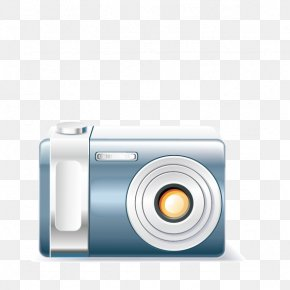 Home Camera - Mirrorless Interchangeable-lens Camera Home Appliance Icon PNG