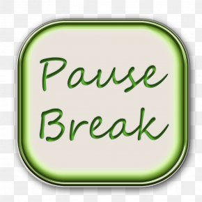 Pause Button - Crochet Photography Information PNG