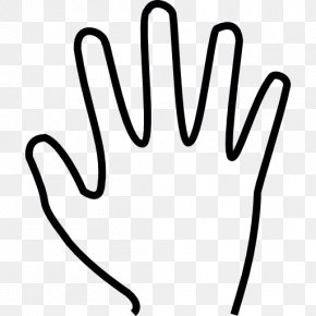 Hand - Finger-counting Hand Human Body High Five PNG