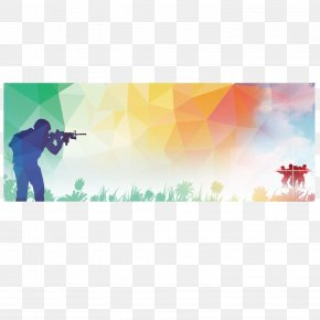 Military Summer Camp Posters - Poster Graphic Design Illustration PNG