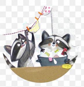 Cartoon Raccoon - Raccoon Giant Panda Procyonidae Illustration PNG