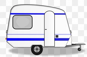 Aluminum Trailer Cliparts - Trailer Caravan Mobile Home Recreational Vehicle Clip Art PNG