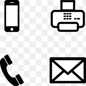 Icon Cliparts - Email Telephone Icon PNG