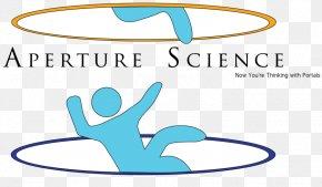 Aperture Vector - Aperture Laboratories Portal Logo Science PNG