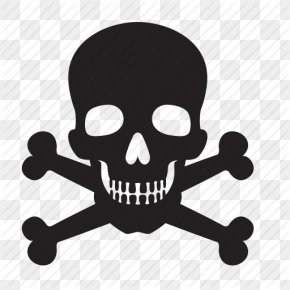 Attention, Bones, Death, Skull Icon - Skull And Crossbones Human Skull Symbolism PNG