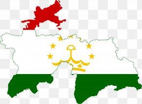 Flag - Flag Of Tajikistan Tajik Soviet Socialist Republic PNG