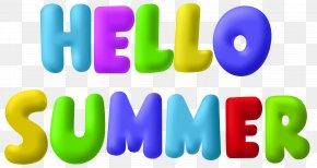 Hello Summer Clip Art Image - Summer Clip Art PNG