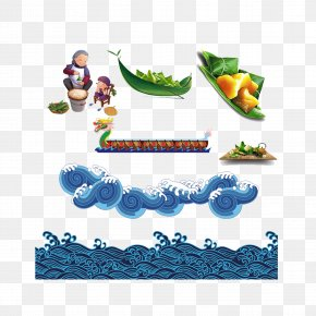 Illustration Of The Dragon Boat Festival - Zongzi Dragon Boat Festival U7aefu5348 PNG
