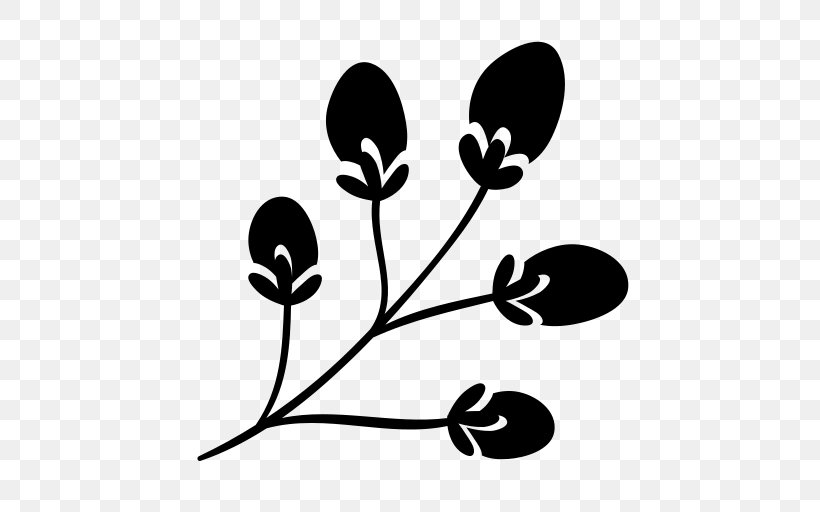 Branch Leaf Tree Plant Stem Clip Art, PNG, 512x512px, Branch, Artwork, Black And White, Christmas, Christmas Plants Download Free