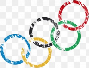 Olympic Rings Fuzzy Traces - 2016 Summer Olympics 2012 Summer Olympics Opening Ceremony Winter Olympic Games Olympic Symbols PNG