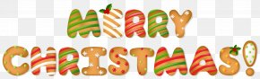 Letters - Gingerbread Merry Christmas PNG