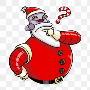 Santa Claus - Santa Claus Christmas Ornament Cartoon Clip Art PNG