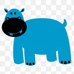 Hippopotamus Cliparts - Hippopotamus Colorful Animals Clip Art PNG