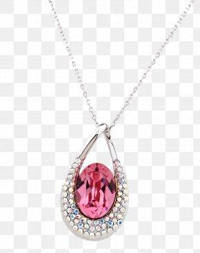 Diamond Pendants - Locket Necklace Diamond Charms & Pendants PNG