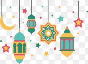 The Color Of Islamic New Year's Ornaments - Euclidean Vector Web Banner Islamic New Year Muharram PNG