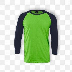 Raglan Sleeve - Long-sleeved T-shirt Long-sleeved T-shirt Crew Neck Raglan Sleeve PNG